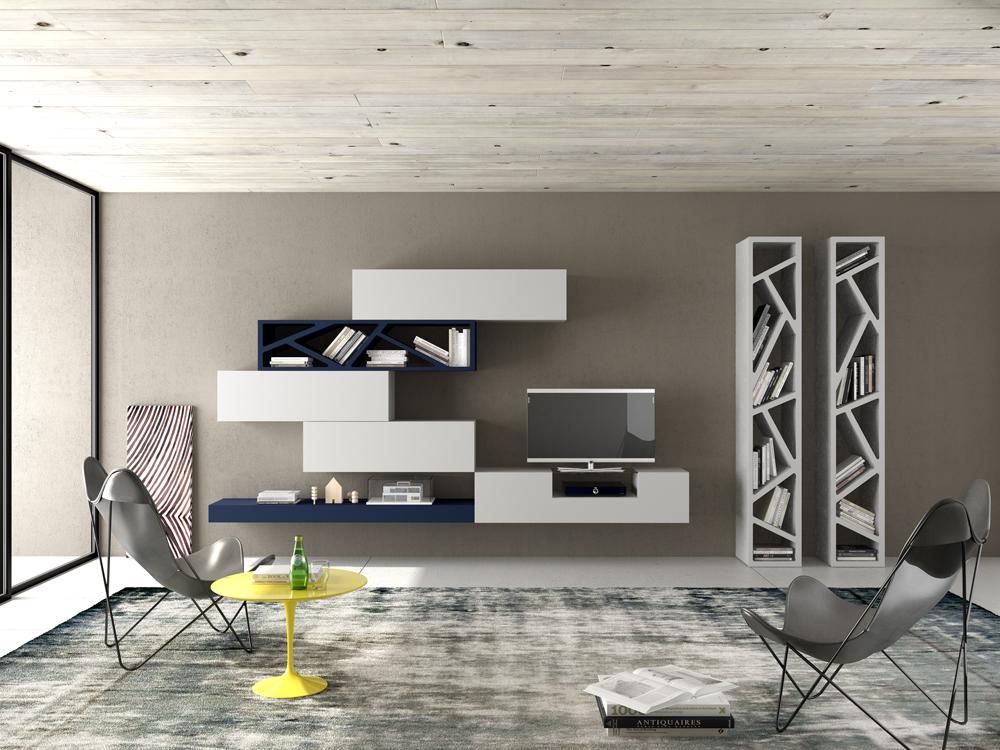 Armadio soggiorno moderno stunning libreria con anta scorrevole i