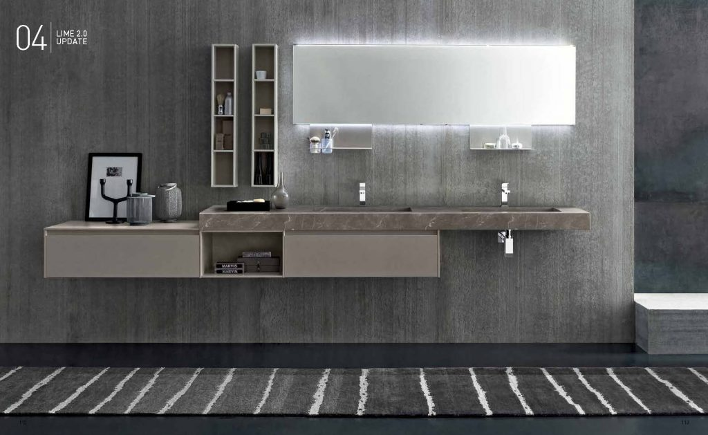 Vendita bagni moderni brescia for Planimetrie del bagno con armadi