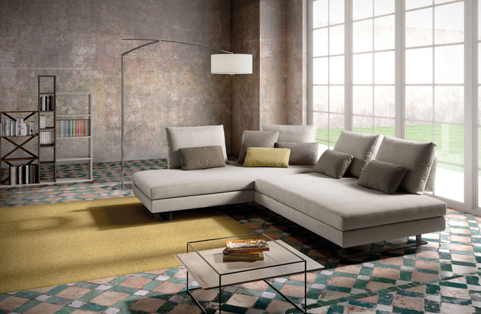 Rivenditori Samoa a Brescia: divani e letti imbottiti.