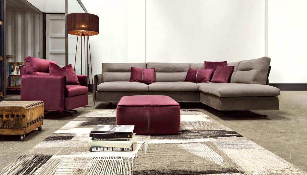 Vendita divani in tessuto brescia for Divani componibili moderni