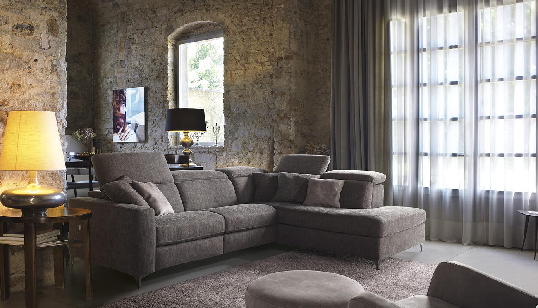 vendita divani in tessuto brescia