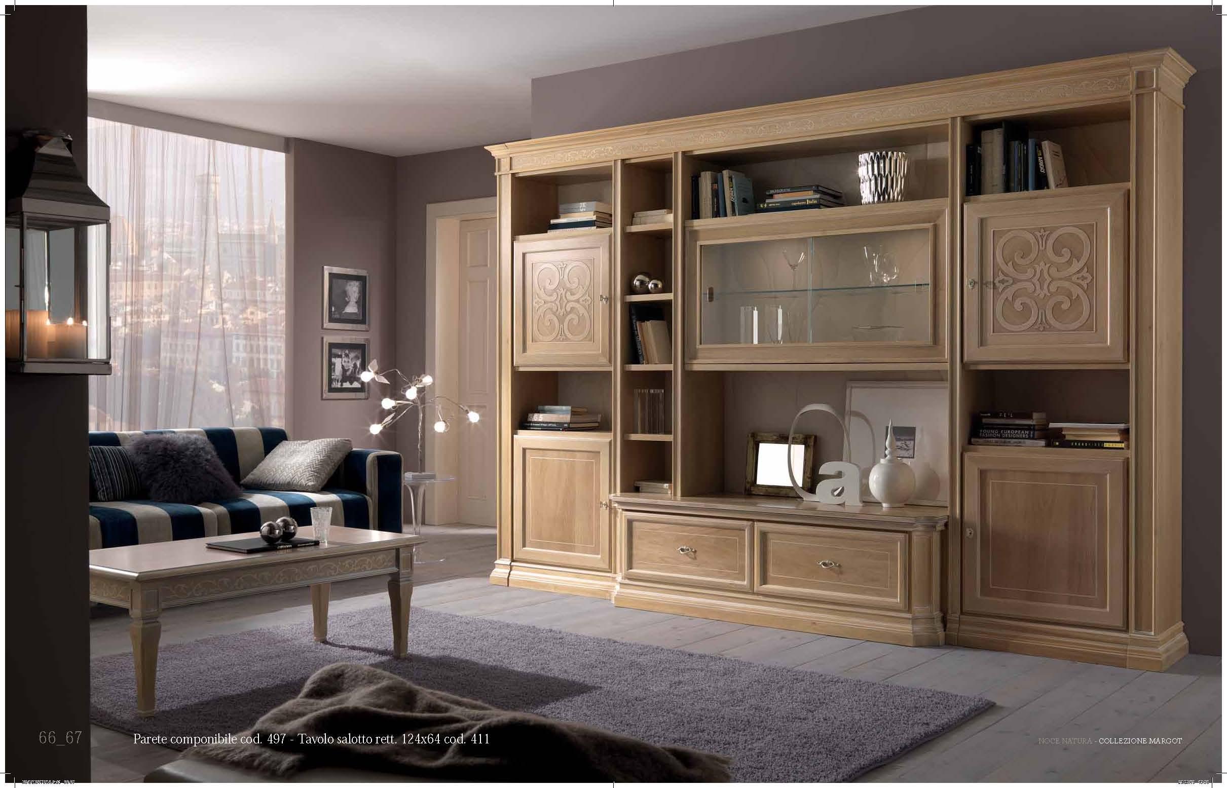 mobile-soggiorno-classico-stilema-brescia - Moby arredamenti