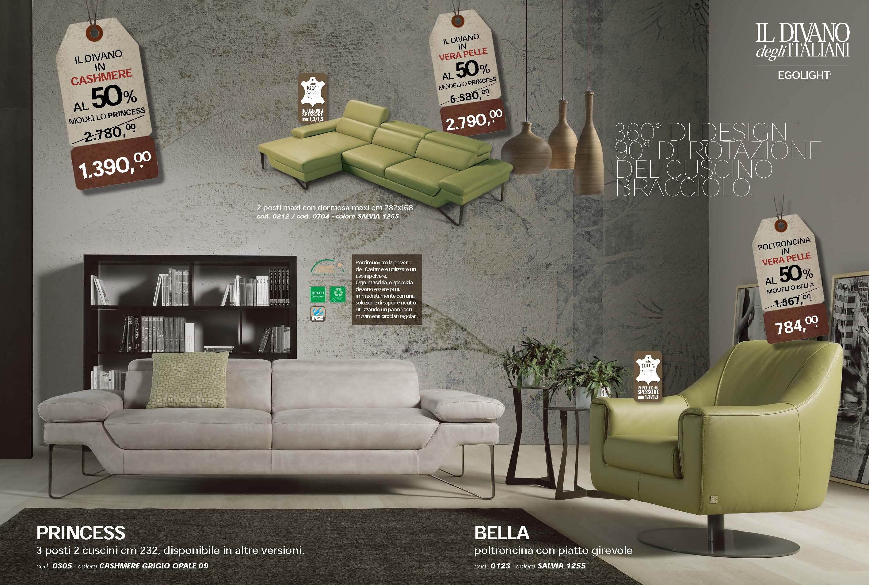 divani pelle brescia