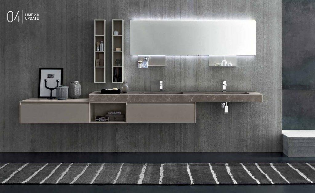 Bagni moderni esposizione e vendita a brescia moby arredamenti - Azzurra mobili da bagno ...