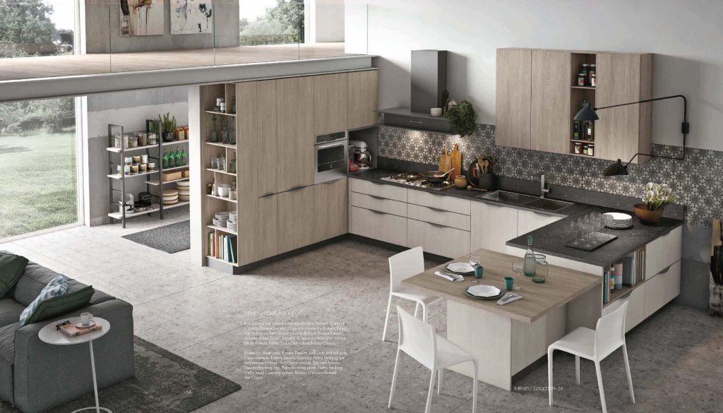 Stosa cucina brescia modello infinity moby arredamenti for Arredo bagno brescia offerte